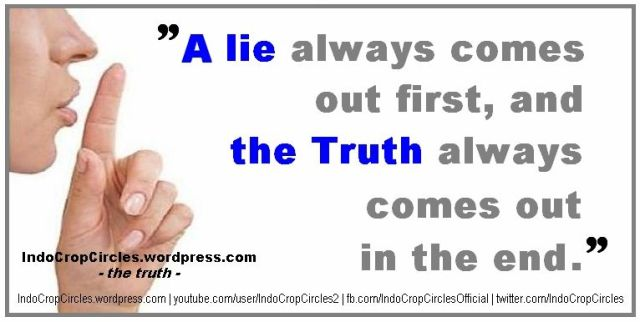 a lie and the truth shhh